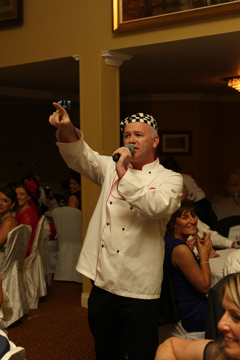 Singing chef northern ireland